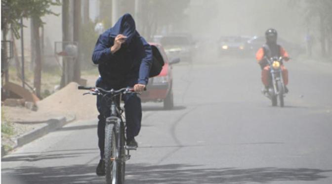 Rige alerta amarillo por vientos en Córdoba