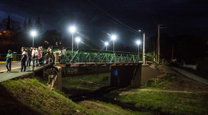 Villa Oviedo: puesta en valor e iluminación del Puente del Matadero
