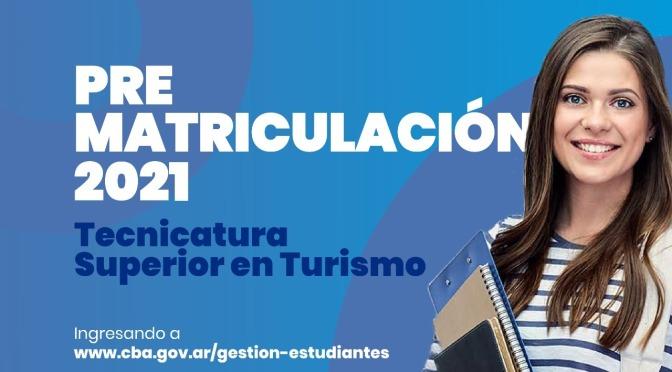 Ya inició la pre-matriculación para la carrera de Tecnicatura en Turismo