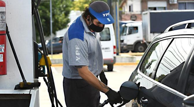 Desde este sábado los combustibles aumentan un 6% en promedio