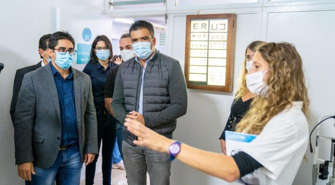 Los ministros Torres y Cardozo recorrieron el Hospital Illia