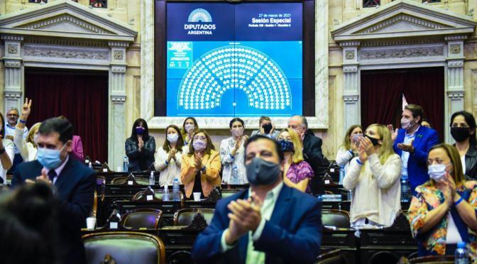 Diputados aprobó y gira al Senado, la reforma de Ganancias