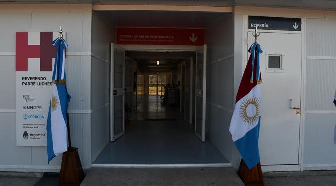 La cárcel de Bouwer cuenta con un nuevo Hospital Modular de Emergencia