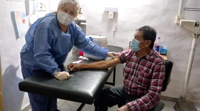 Retomó la vacunación contra el Covid-19 en San Clemente