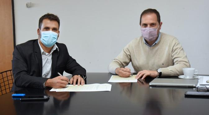 Se firmó el convenio para la ampliación y refacción del Dispensario Ramón Carrillo