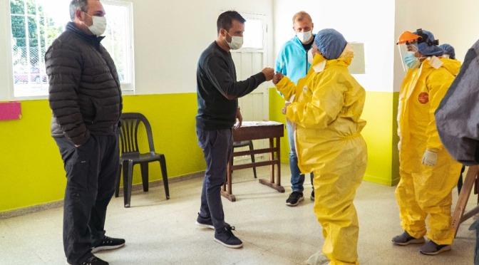 Apertura de nuevo Centro de Testeos y adquisición de Unidad Sanitaria Móvil