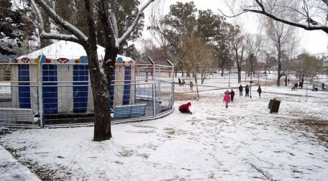 Pronóstico de nieve para el Valle de Paravachasca
