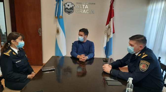 El Intendente Torres recibió a la Jefa de la Policía de Córdoba
