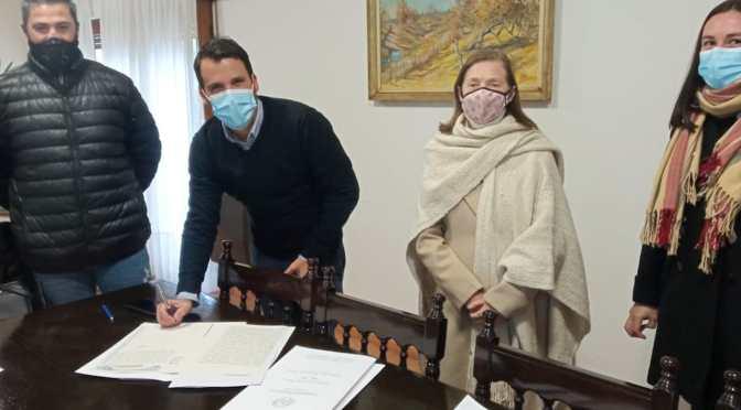 Se completó la firma de escrituras de Barrio Residencial El Crucero